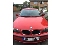 BMW 318i S Good runner and good condition.