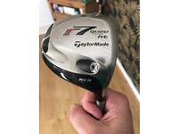 Taylormade driver and rescue club