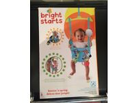 Baby bouncer - 'bright starts'