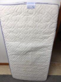 John Lewis spring cot mattress