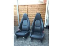 Mx5 Seats. Heather Leather mint condition