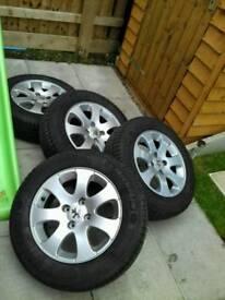New Michellin tyres