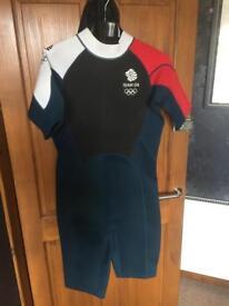 "Team GB ""shorty"" wetsuit XL"