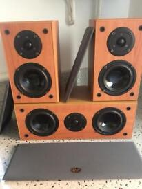 Quality Gale Audio speakers