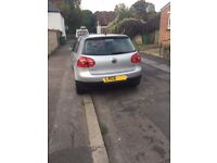 Volkswagen Golf excellent condition and low mileage