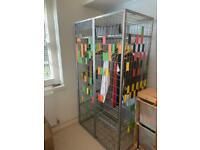 IKEA cage wardrobe