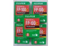 NEW SEALED Fuji FP 100C Film for Polaroid Land Cameras Packs of 10 Photos