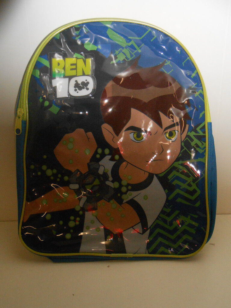 Ben 10 Back Pack and Lunch Bag - New