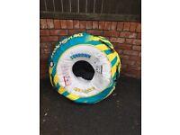 Inflatable doughnut