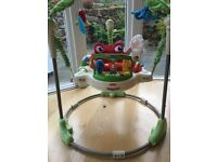 Fisher Price Rainforest Jumperoo for sale. Excellent condition.