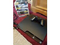 Ps3 320gb bundle with bluerays and games