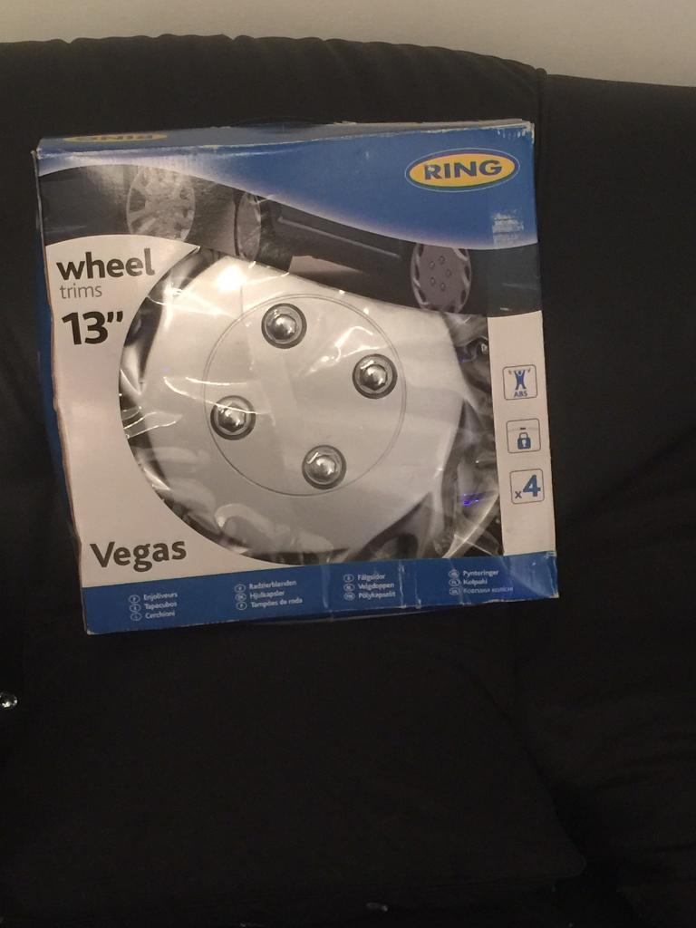 Wheel trims for carin Anfield, MerseysideGumtree - Set of 4 car wheel trims silver still in original box brand new 13 inch wheel please collect only