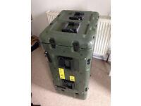 Rackmount audio equipment travel case 19 inch