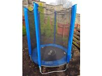 Plum Junior Trampoline with Enclosure