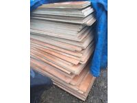 Hardwood plywood sheets