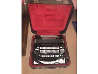 Piano Accordion Excelsior 940 120 Bass Double Cassotto, Musette, with midi and mics
