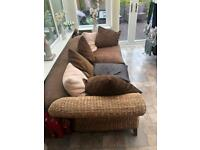 Three Seater and single Rattan conservatory furniture