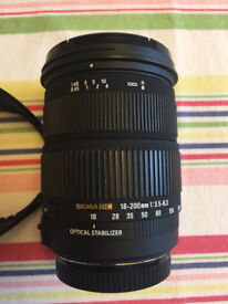 Sigma 18-200mm f/3.5-6.3 DC OS (Canon Fit)