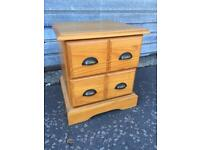 Small pine chest drawers, delivery available