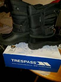 Snowboots as new