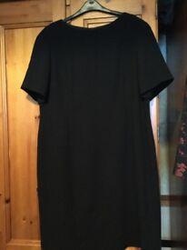 Black dress size 18