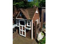 Wooden Wendy play house