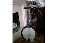 Banjo, 5 string, almost new