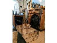 Puppy or small dog training pen cage