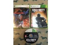 Xbox 360 games cod 2 & 3 also Devil may cry