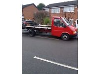 Ford transit recovery banana engine