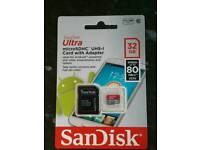 32GB Ultra Micro SDHC Card - New