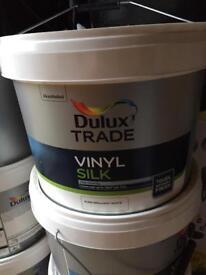Dulux vinyl silk 10L pure brilliant white