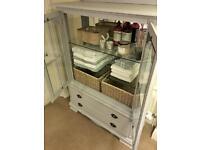 armoire linen press display cabinet bathroom cupboard dining room dresser sideboard buffet