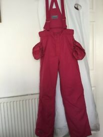 Pink Salopettes - age 15/16 or size xs