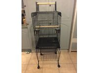XL bird cage. Selling due to ordering twice on line