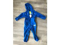 Kids Regatta Puddle suit Breathable Waterproof all in one. Age 24-36 months