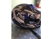 GP-PRO kids quad/ motorbike helmet