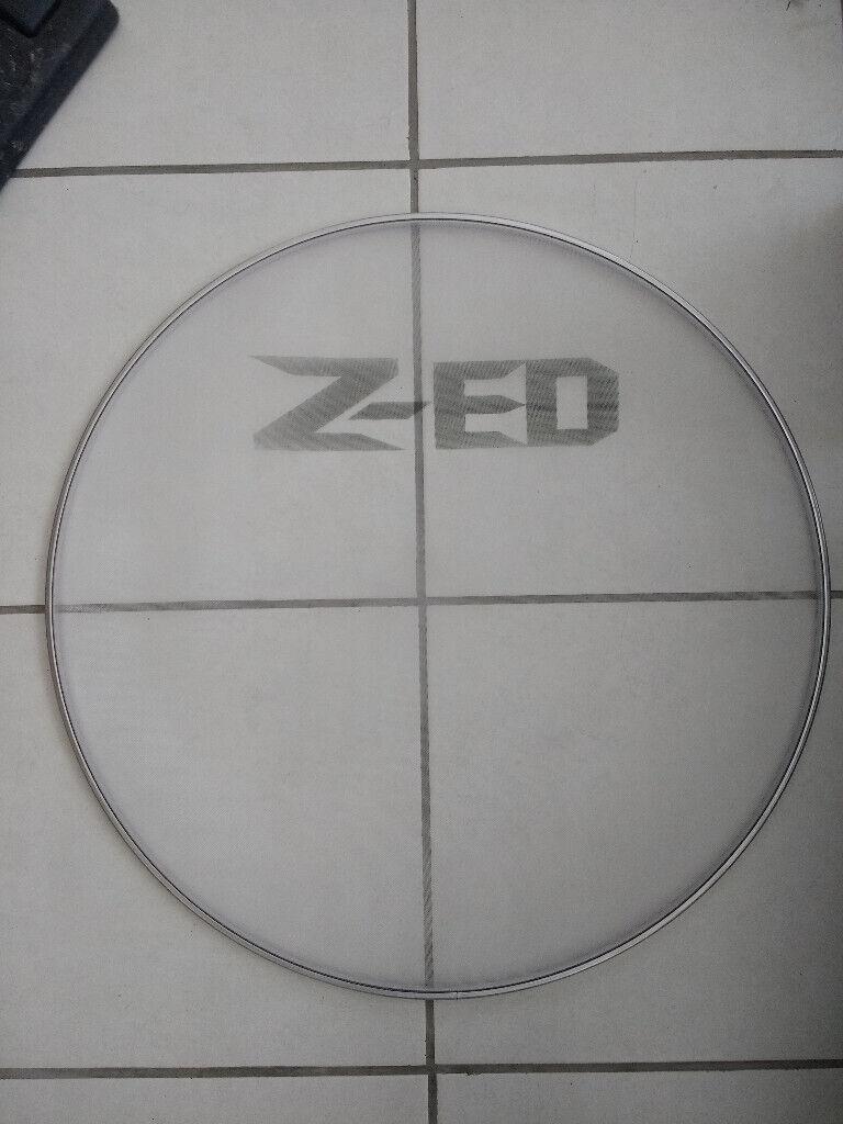 Z-ED Black Smooth Drum Heads