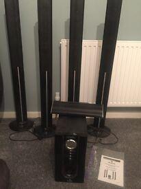 5 Piece auna Surround Sound System