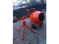 cement mixer 240v electric like new