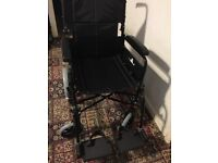 INVACARE FOLDING WHEELCHAIR AS NEW