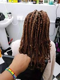 Afro/EUROPEAN hair dresser