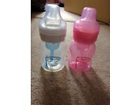 2x Dr Brown's bottles