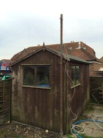Garden Shed - 9ft 6 x 6ft.