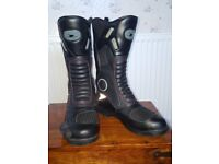 Motorbike Boots Size 8