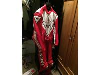 Moto Dainese leather suit
