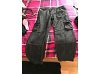 Men's jeans size small cargo jeans