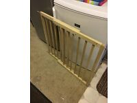 Adjustable Wooden Stair Gate VGC