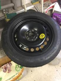"""Space saver wheel Ford 16"""" 5 stud."""
