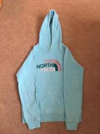 North Face blue hoody